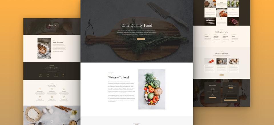 Créer un site web  pour son restaurant